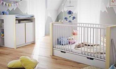 chambre de bébé meublée avec gout